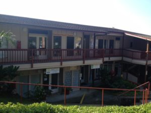 The New Thought Center of Hawai'i building within Pualani Terrace in Kealakekua, HI.